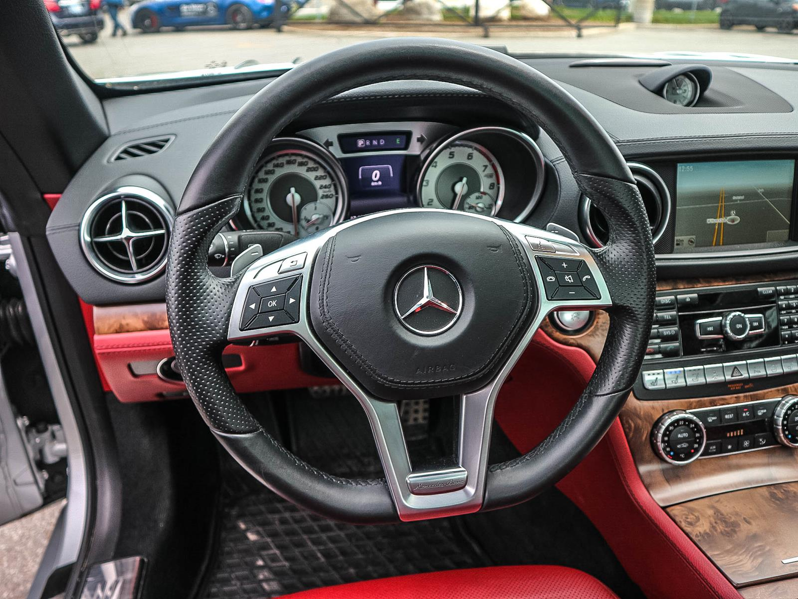 Certified Pre-Owned 2016 Mercedes-Benz SL-CLASS SL550