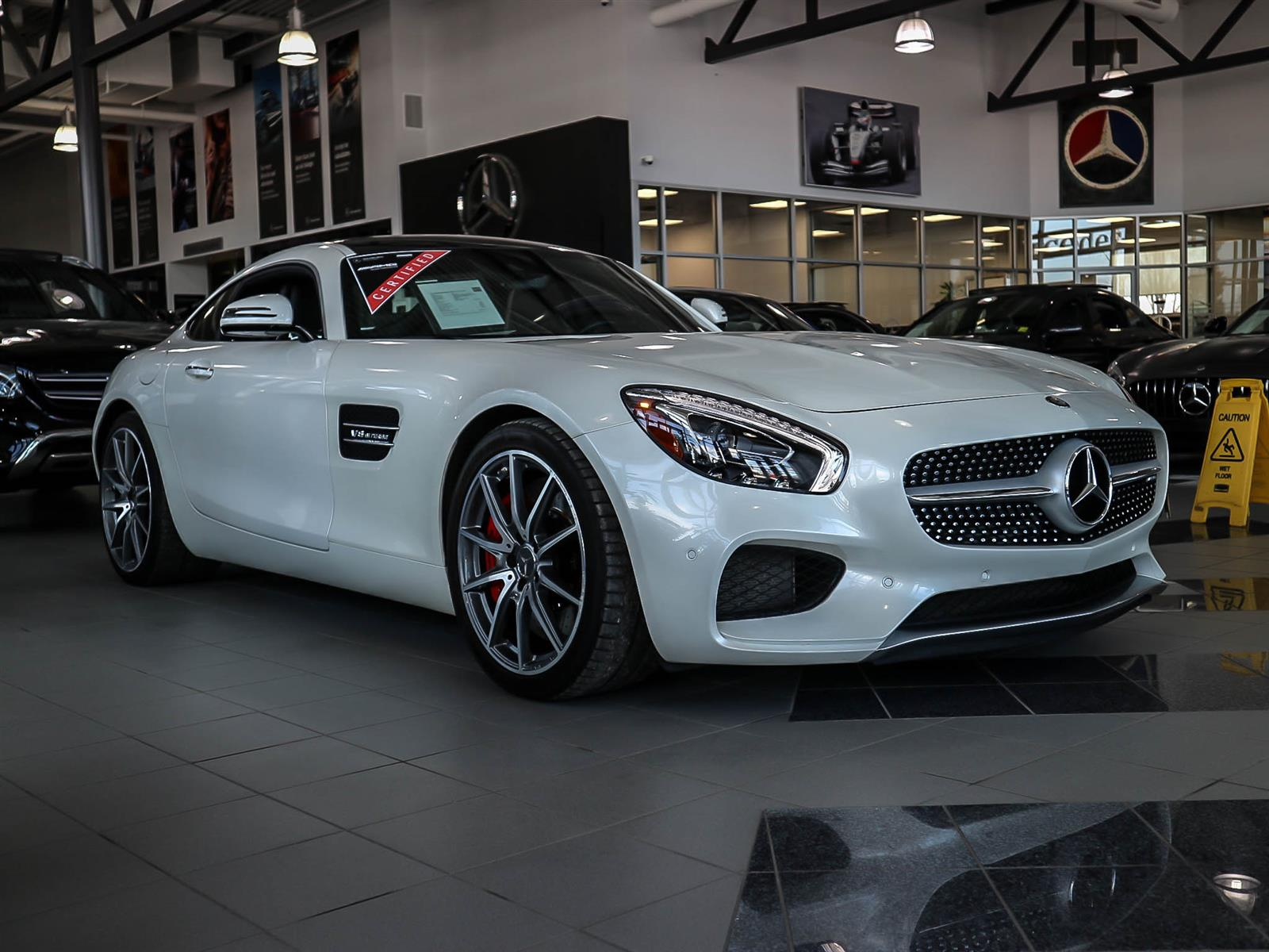 Certified Pre-Owned 2016 Mercedes-Benz GT-CLASS AMG® GT S